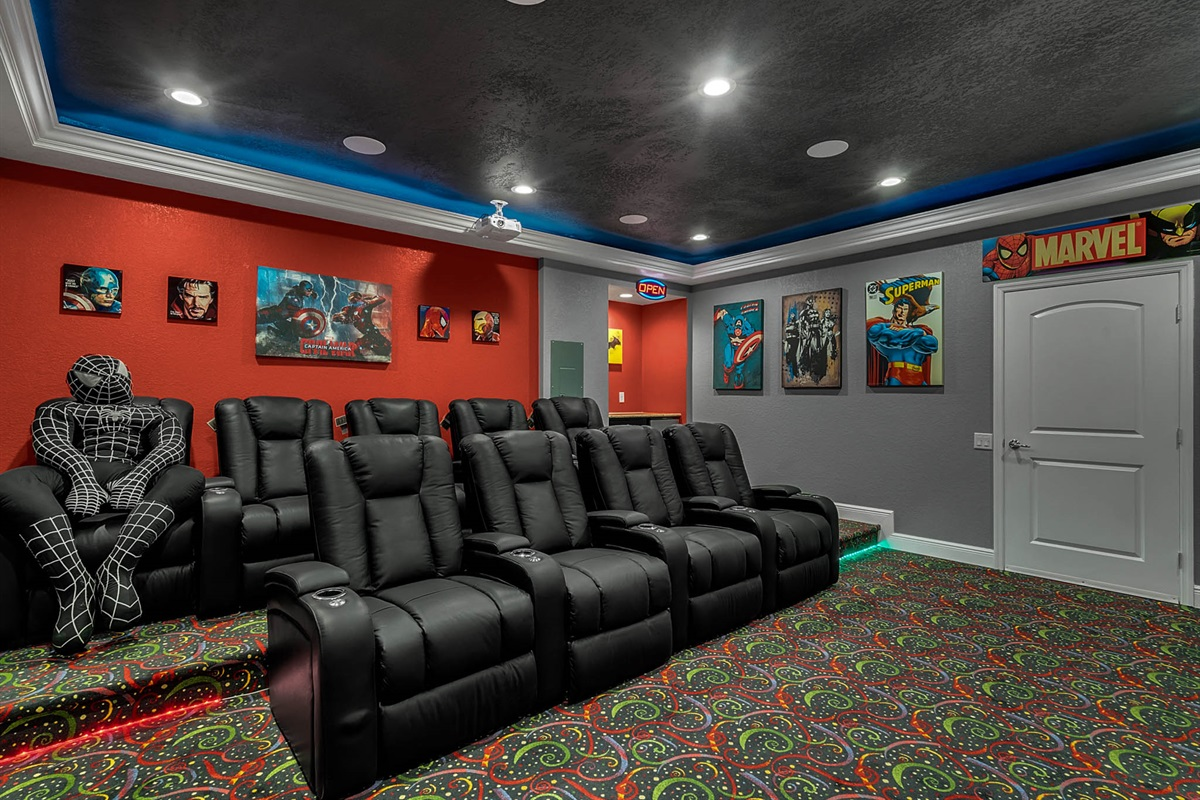 Electric Reclining Theater Seating