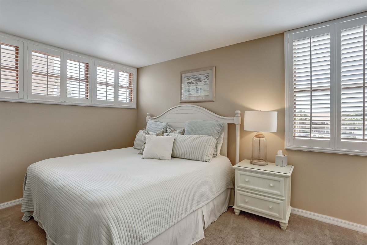 King in Guest Bedroom with Private Bathroom