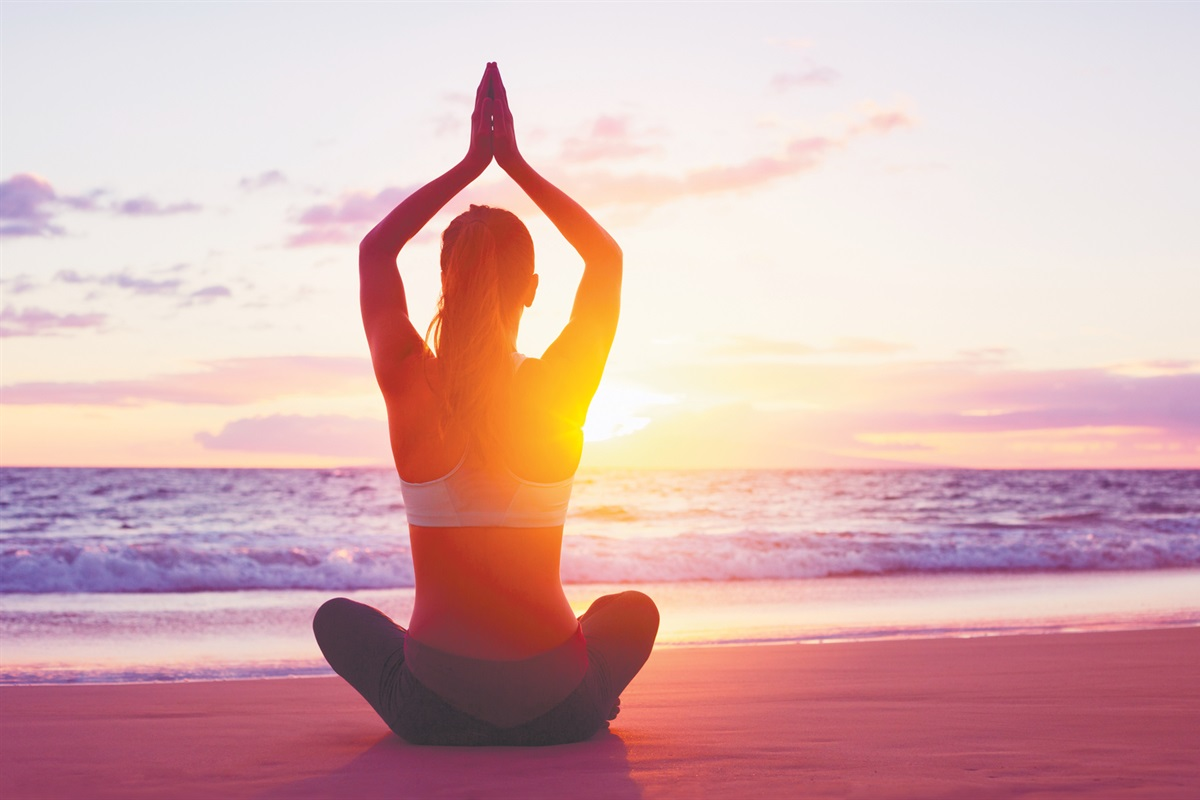 Beach Yoga - Zen Moments