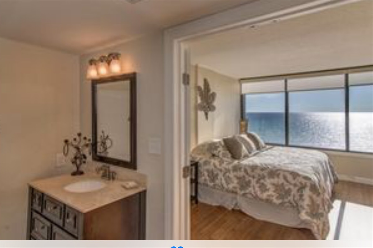Master bedroom ocean view and very spacious