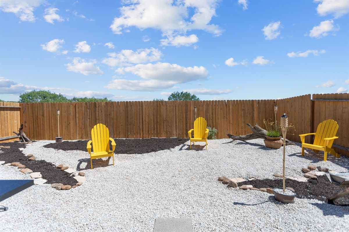 Relax away in Zen-style backyard
