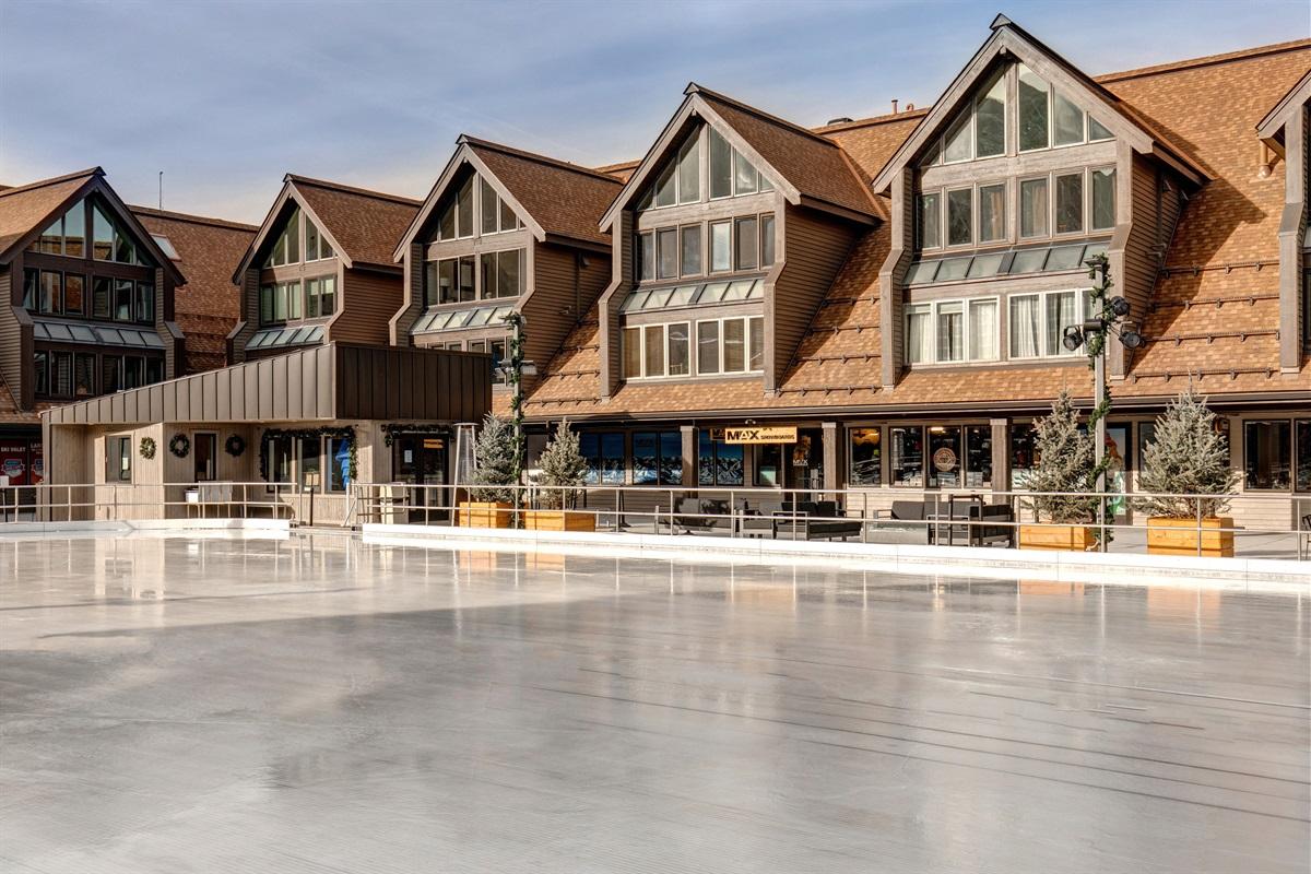 Ice skating rink