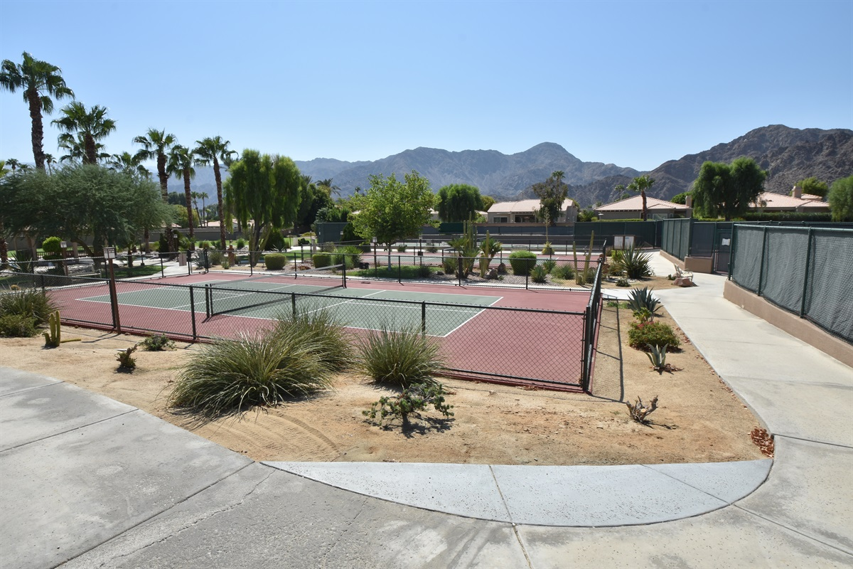 Pickle ball courts
