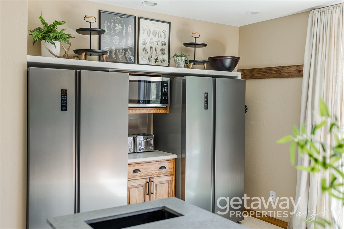 Double Refrigerators