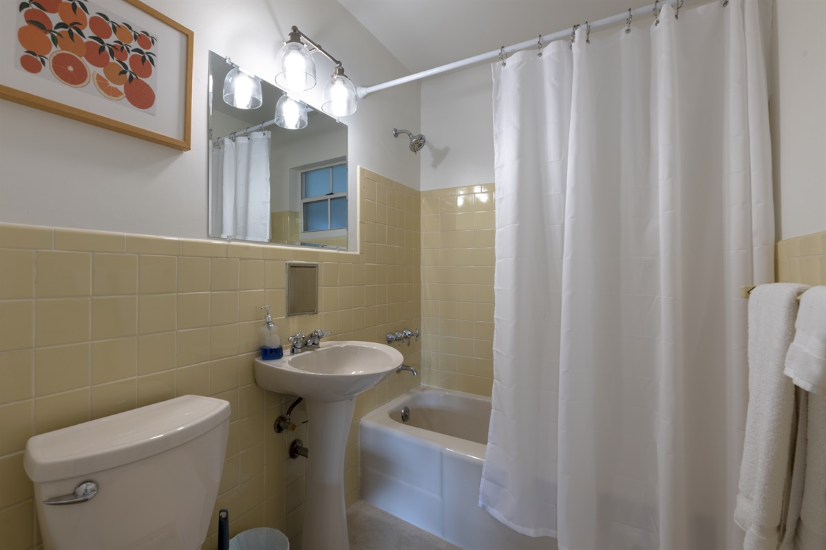 2nd Bedroom with combo bath/ shower