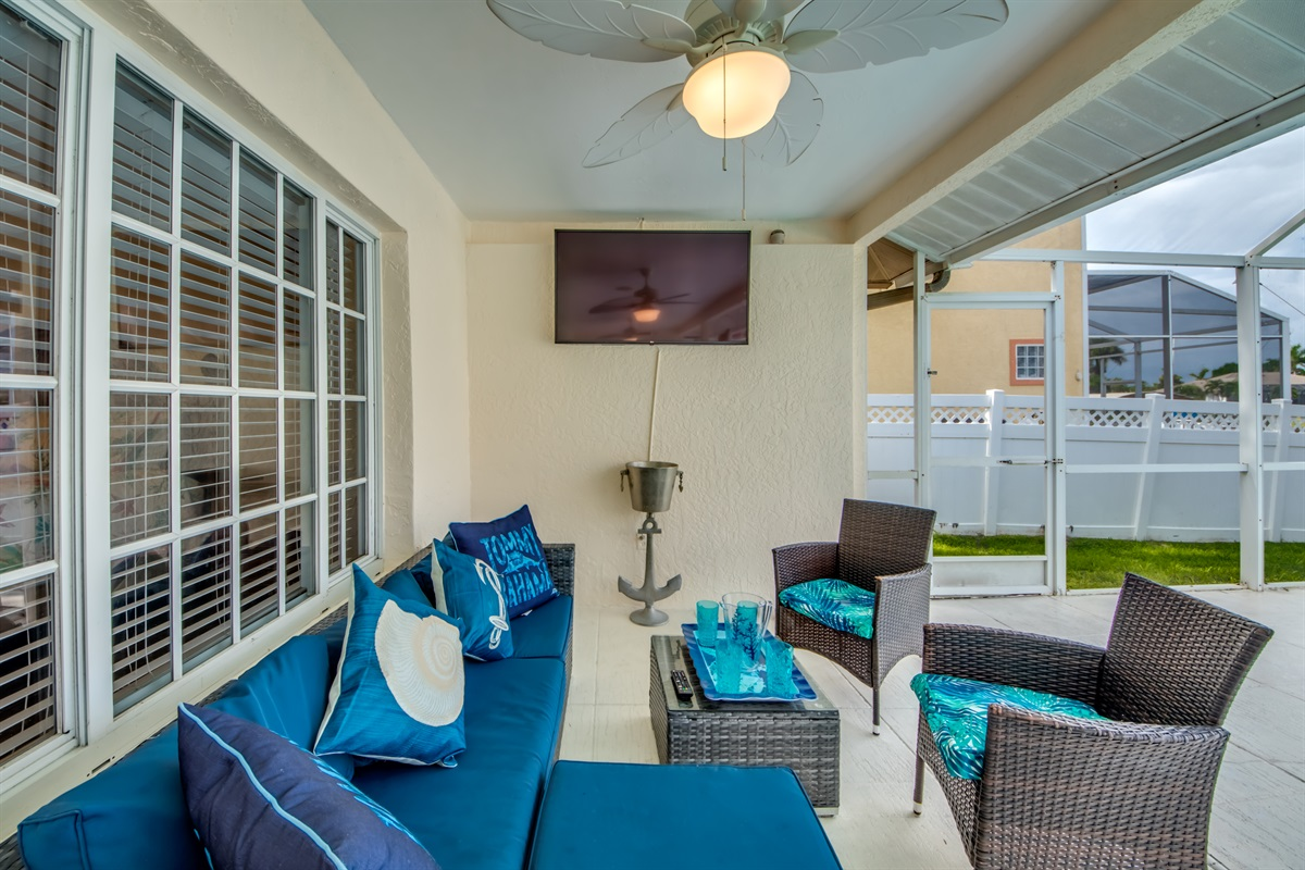 TV on the lani for your favorite movies