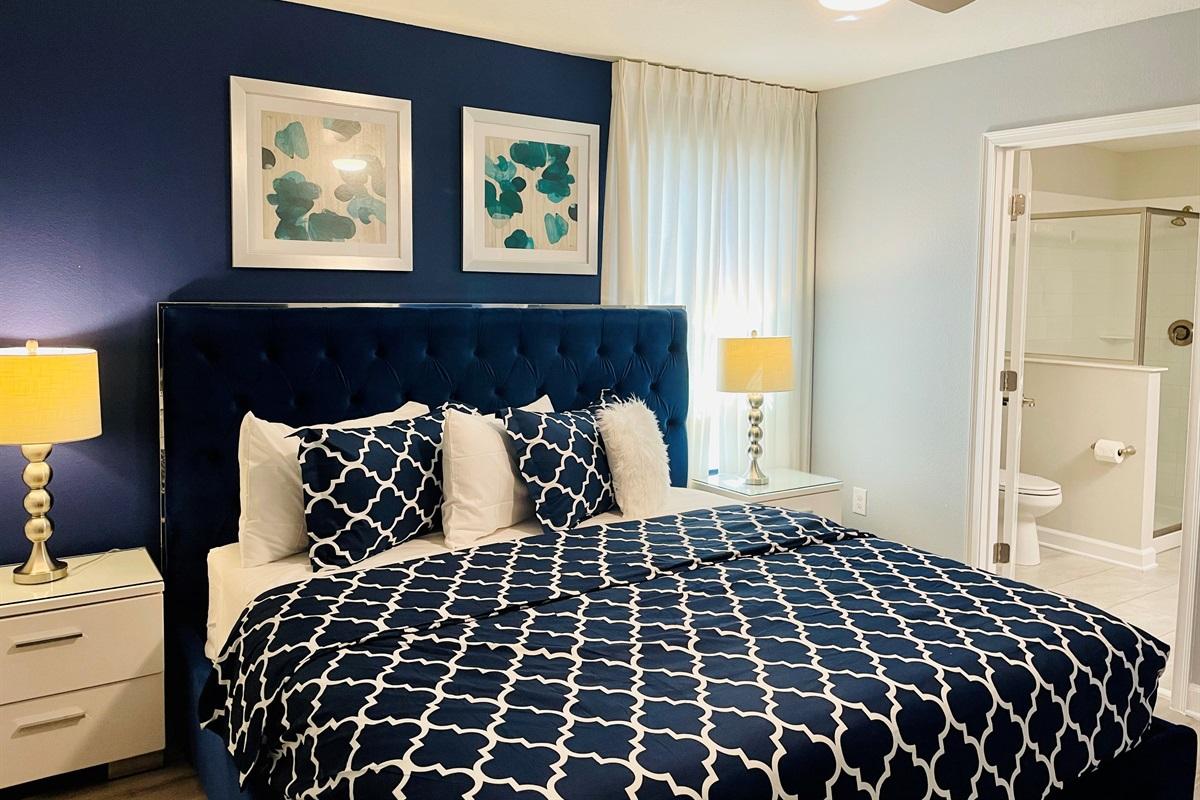 Bedroom #5-2nd Floor-King Bed