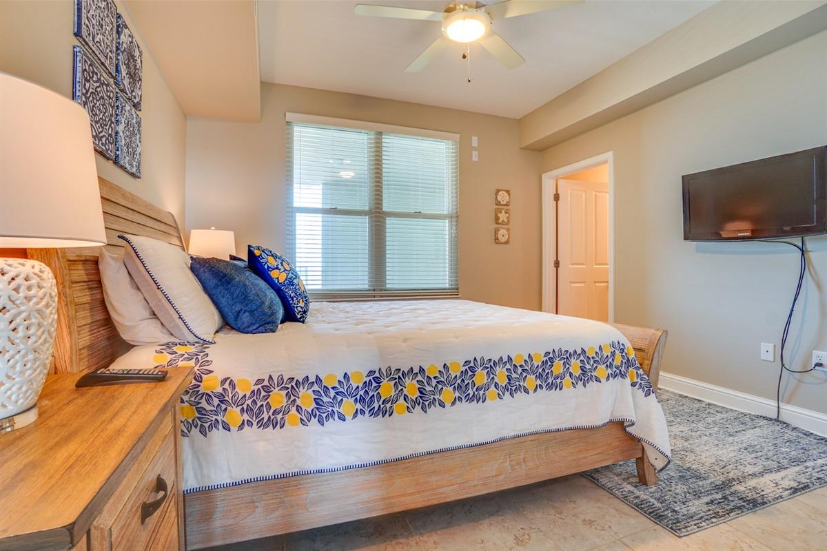 Bedroom 3 with ensuite bath