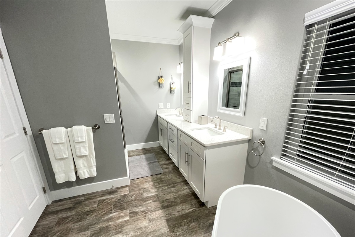 Master Bathrooms with Multiple Basins