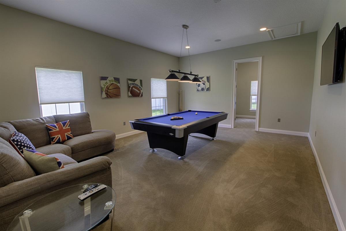 Games Room and Video Game Room