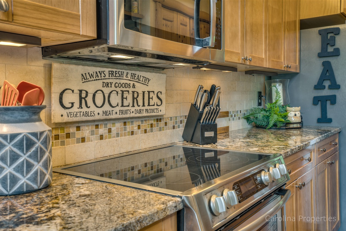 Top of the line appliances