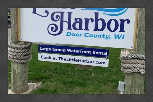 """""""The Little Harbor"""" in Door County, WI is professionally managed and owned by Little Adventure Vacation Rentals, a local family business!"""