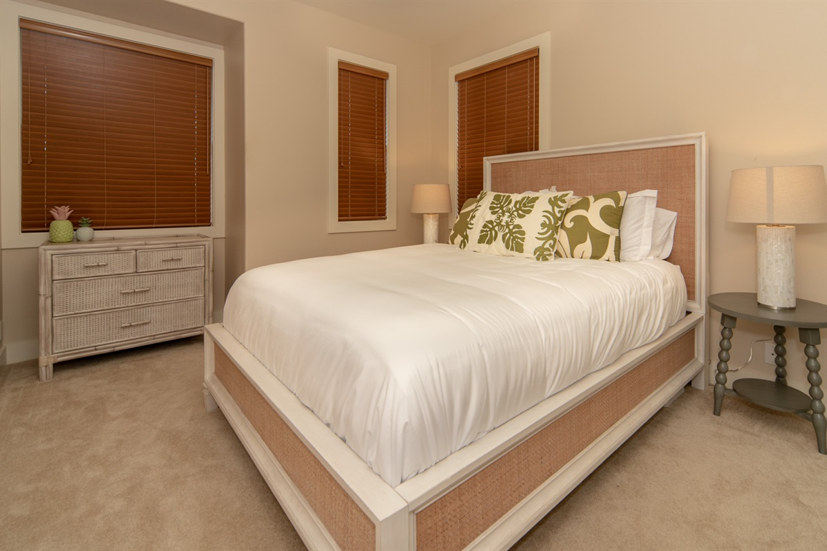 Top quality bedding is supplied throughout the rooms