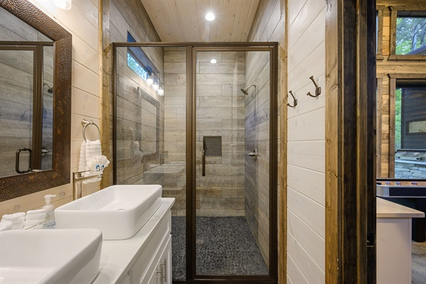 5th bathroom in game room