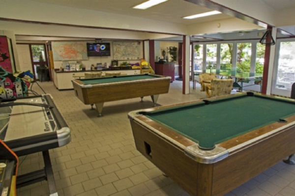Chalet Village Clubhouse Community Rec Area. Located just 1/2 mile from the chalet