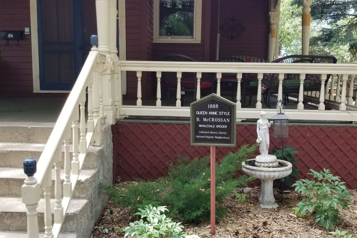 Built in 1888 Queen Anne Style Home on National Historic Registry