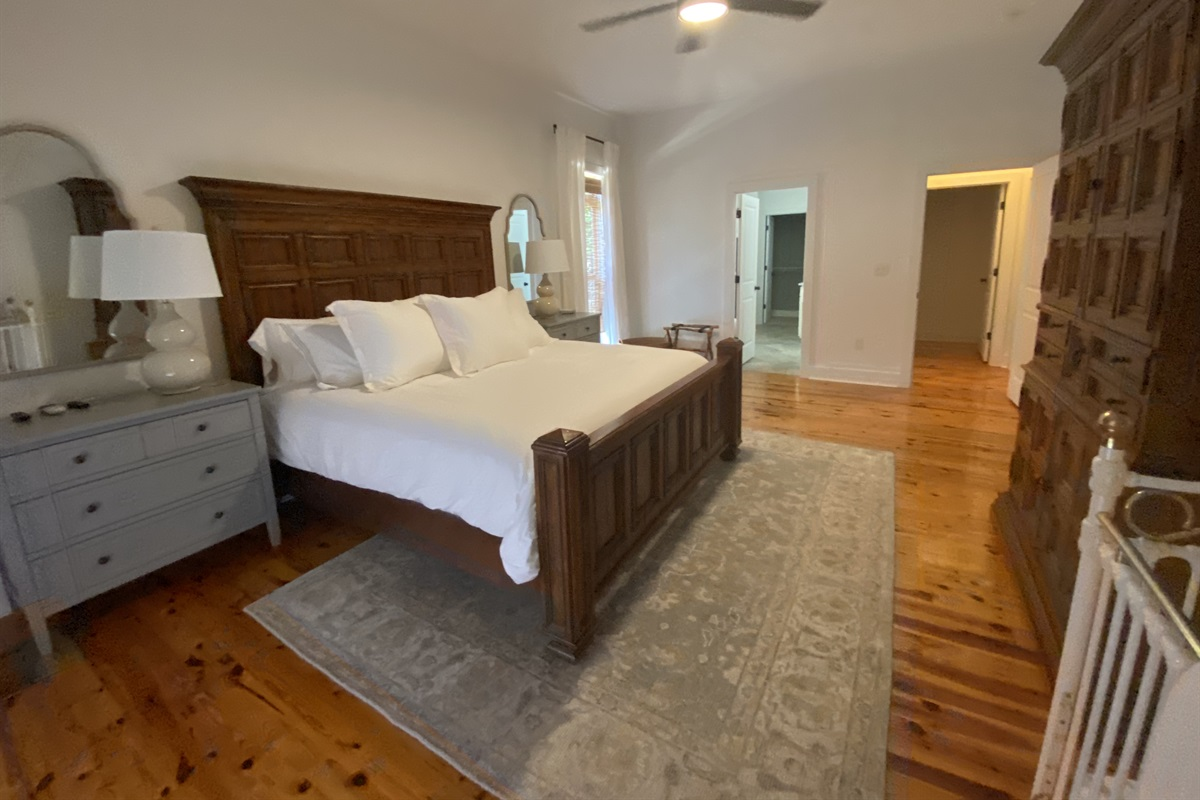 Different angle of the Master Bedroom.