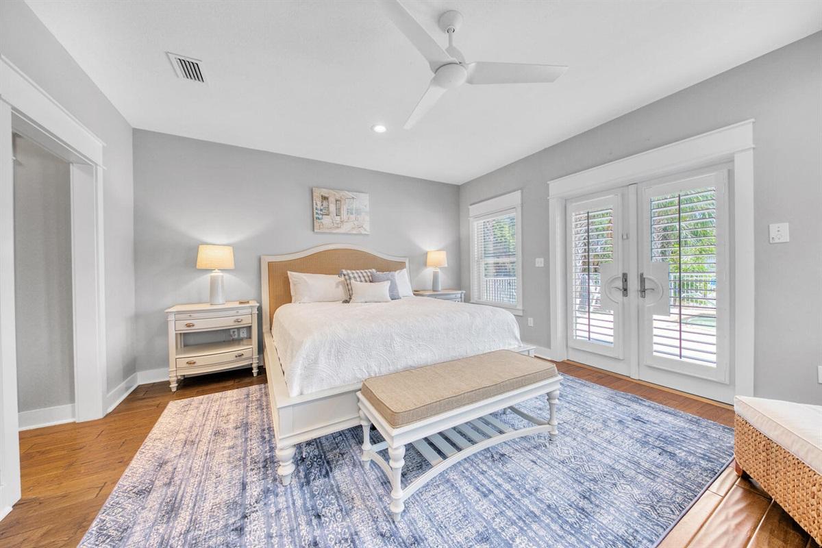 First Floor - Master King Bedroom