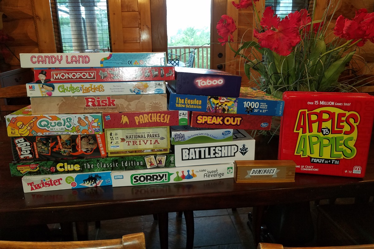 Board games to gather the entire family around.