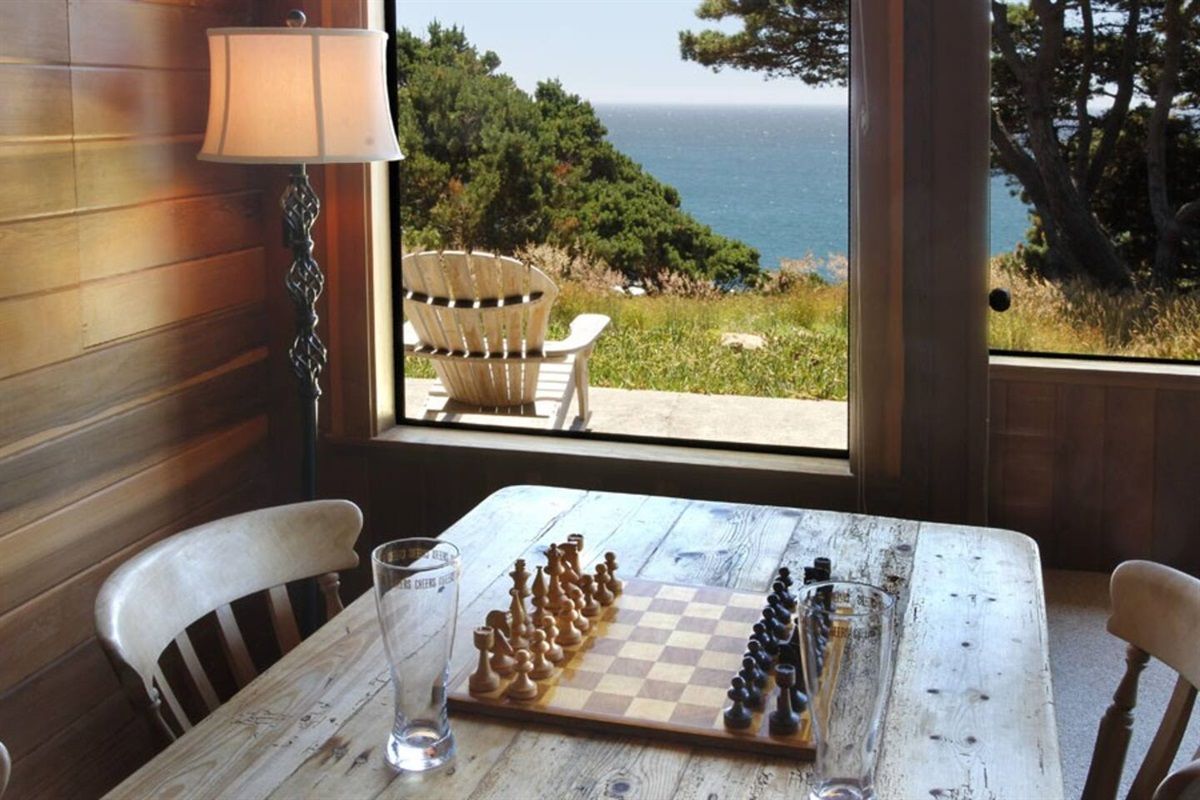 Ocean Bluff Serenity Game Table