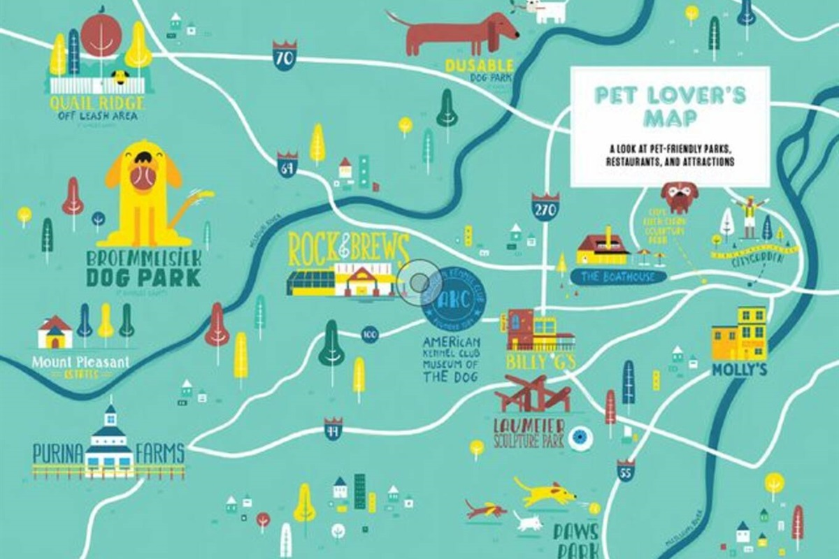 St. Louis is a dog lover's city.