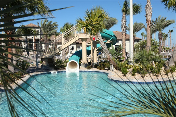 Lazy River And Slide