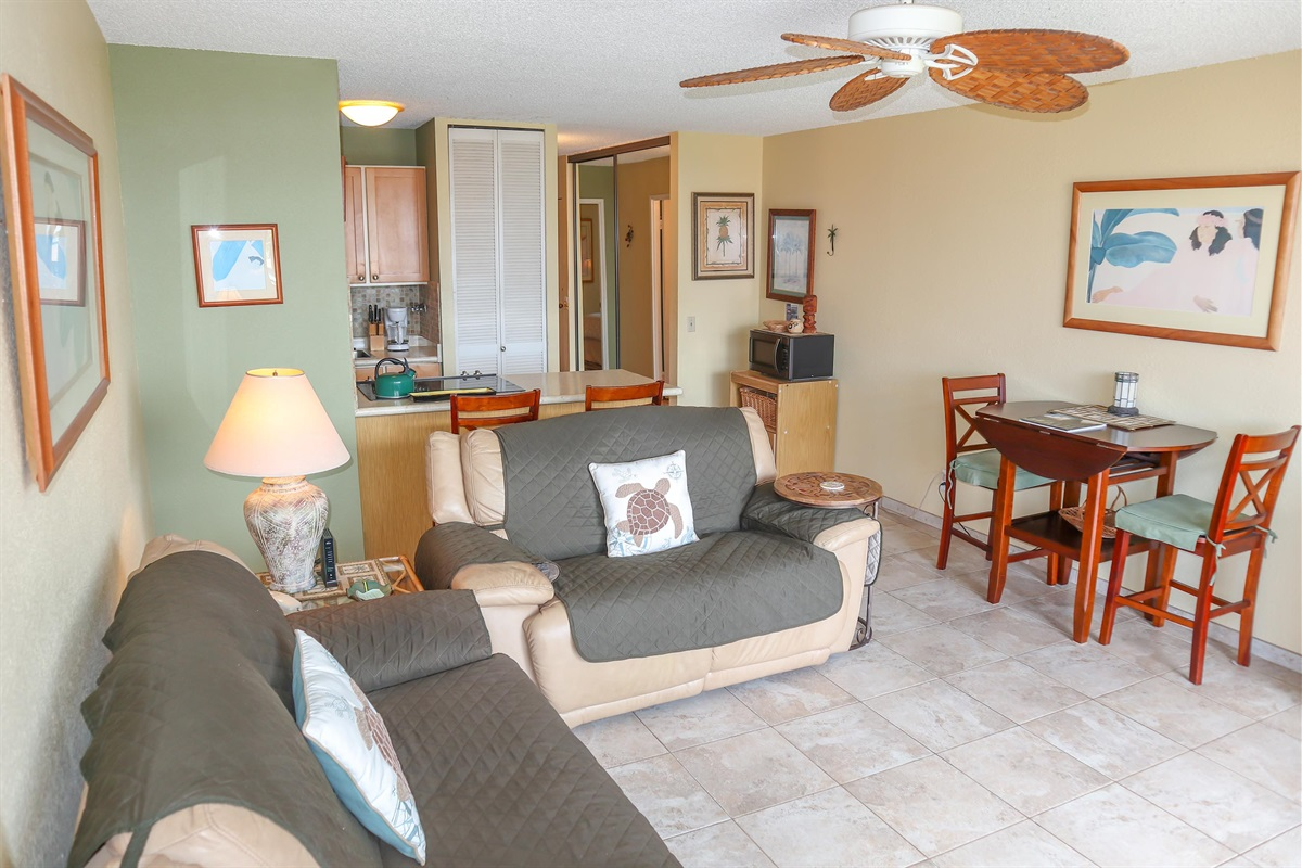 Totally remodeled with beautiful upscale tropical decor