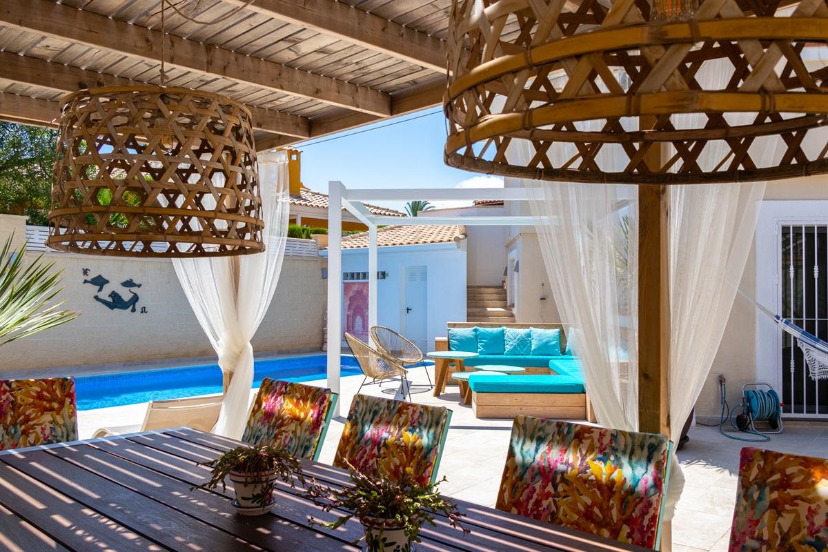 View fom the veranda