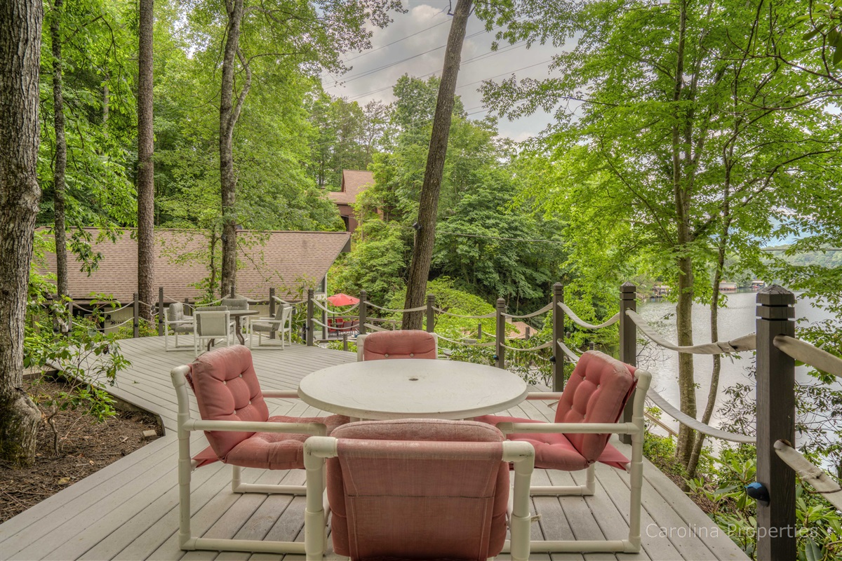 More options of outdoor seating