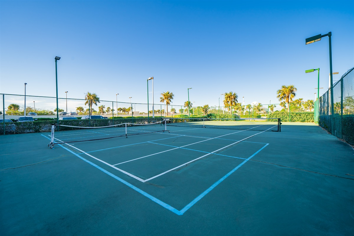 Tennis and Pickle Ball