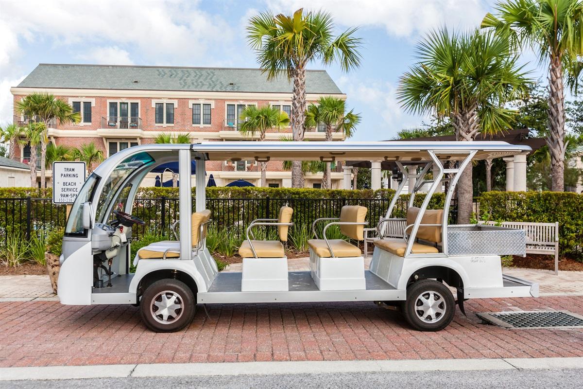 Seacrest Beach Tram Service