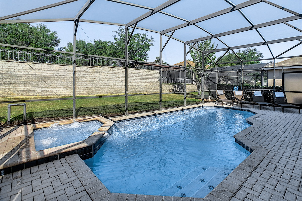 The Heated Salt Water Pool & Spa Are West Facing (Plenty Of Sun) And Private