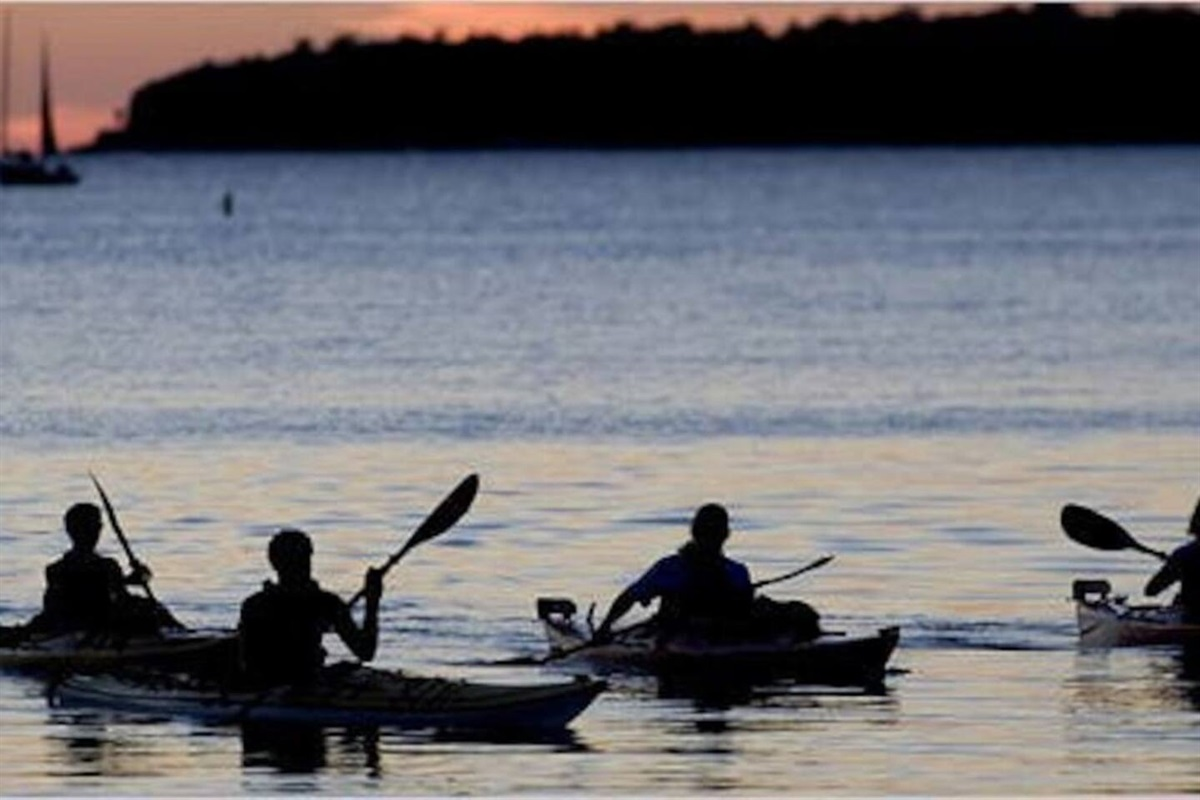 Kayak and explore the shorelines around Little Sturgeon Bay, Riley's Bay, Snake Island, Sand Bay, and Sturgeon Bay! When you do kayak within 1/2 hour of sunset make sure you have a light on your or the kayak (local ordinance).