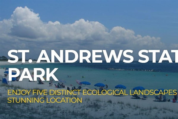 Less than one mile to Florida's top State Park