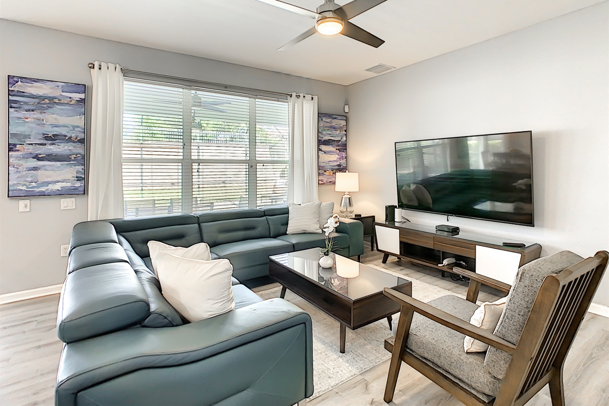 """Family Room - 75"""" Televisions"""