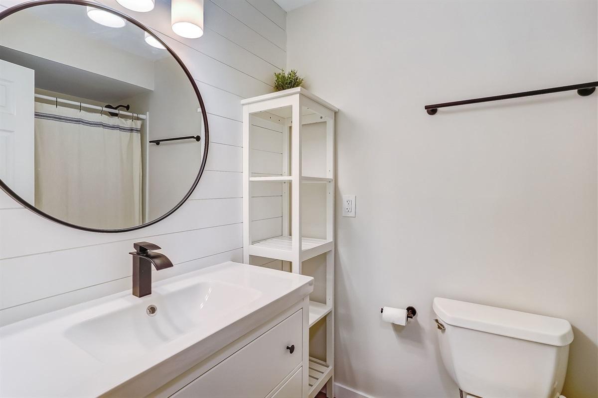 Brand New Hall Bathroom