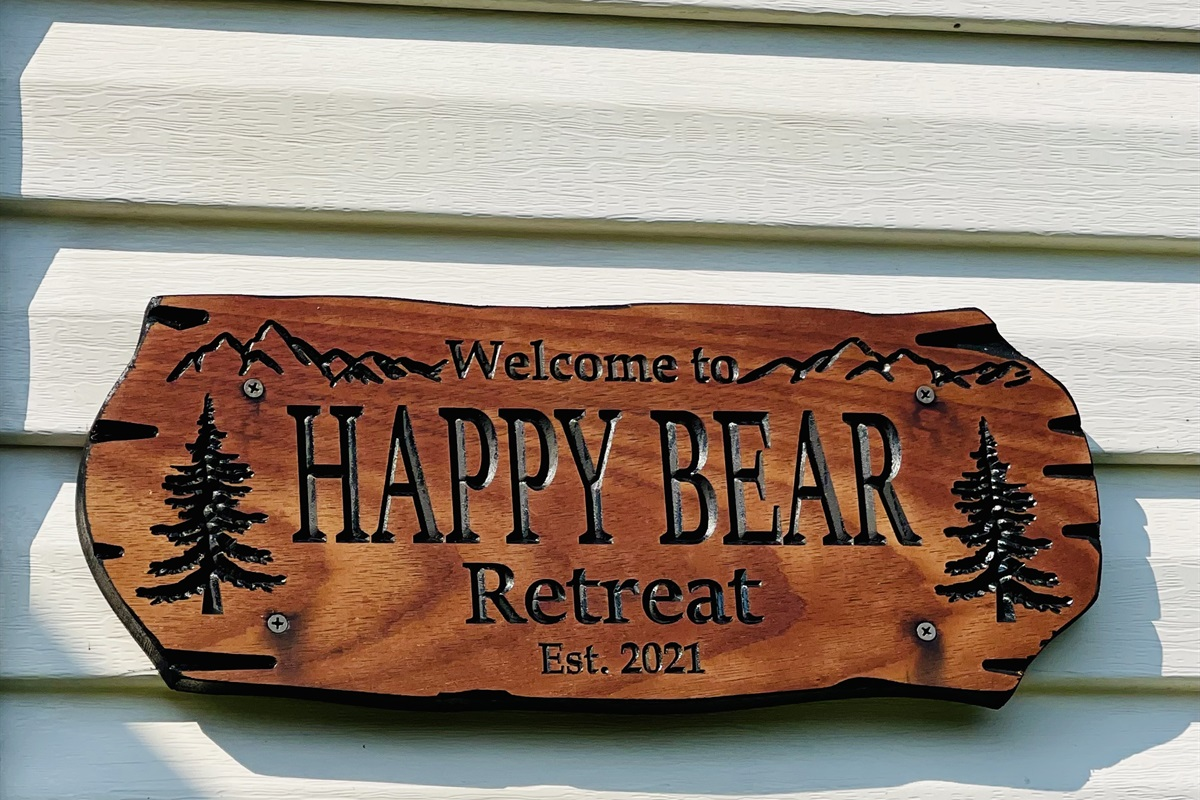 Welcome to Happy Bear Retreat