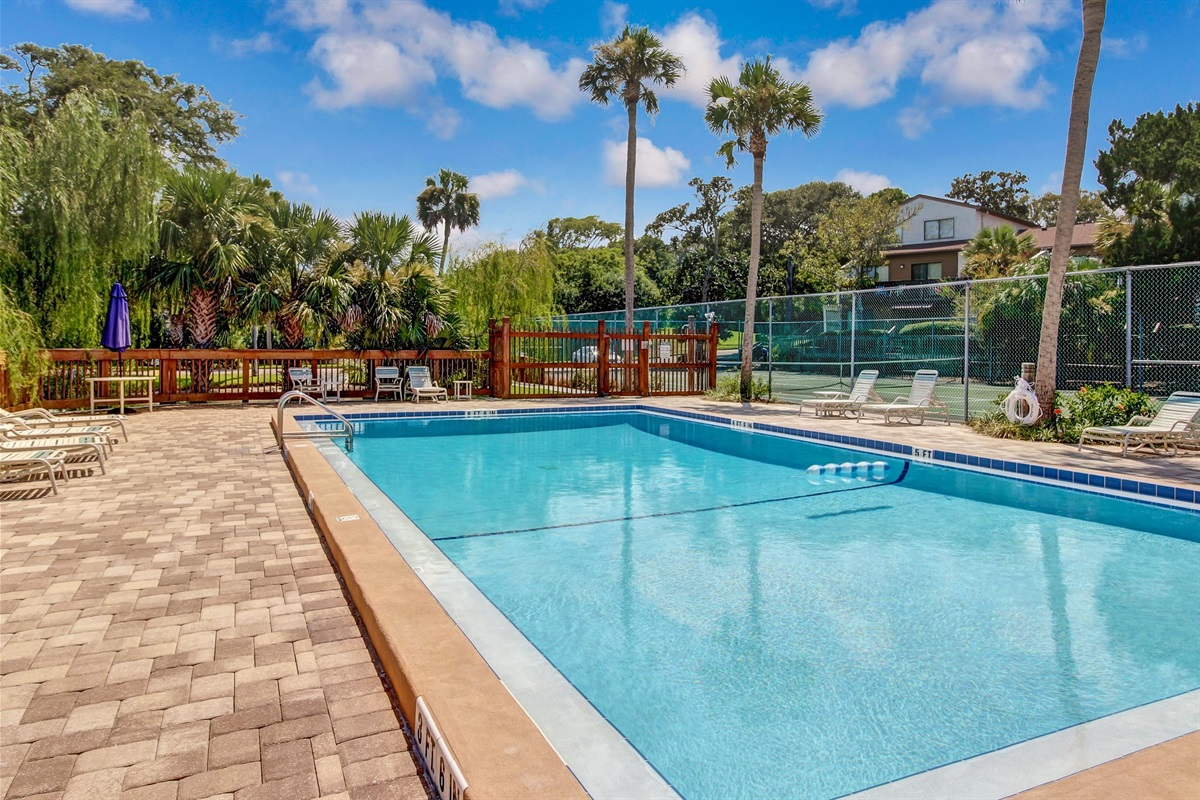 Gated Complex Pool