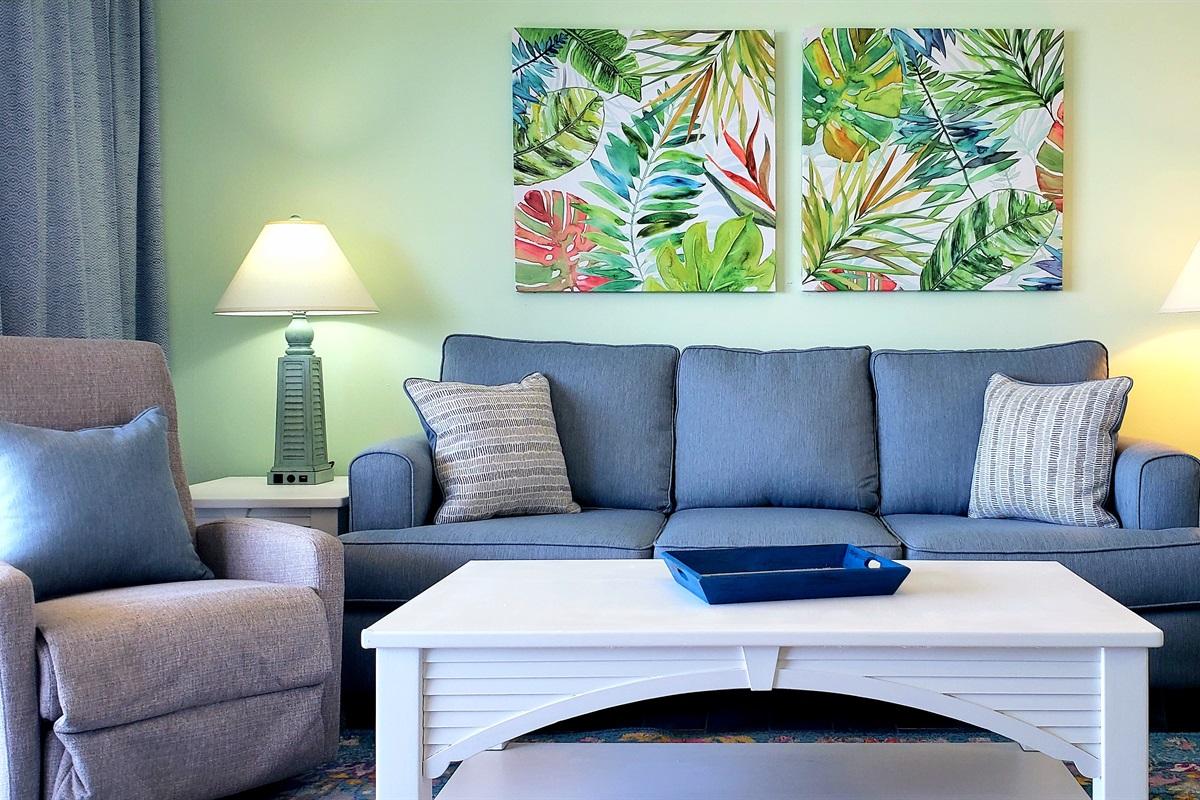 Beachfront Updated Livingroom