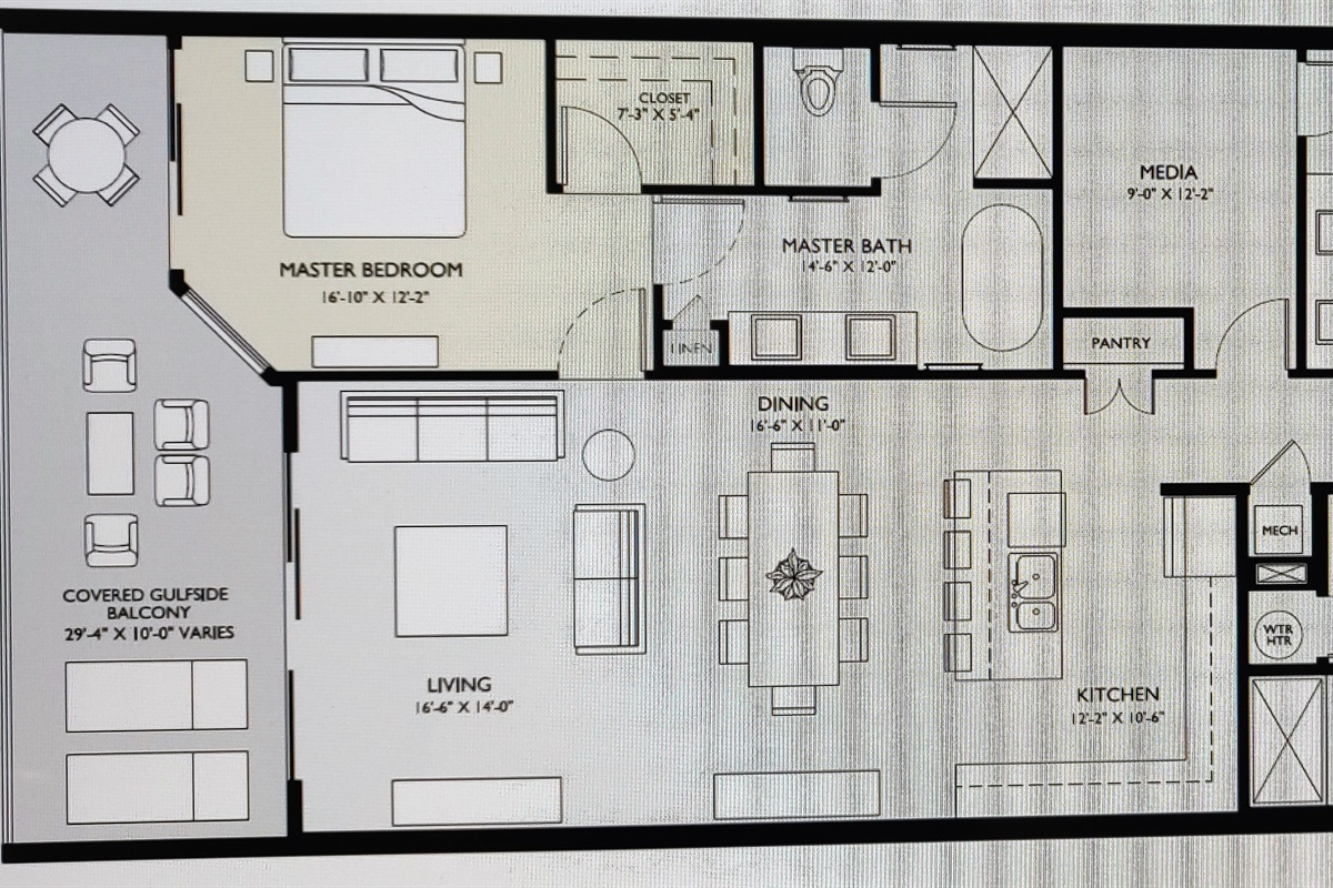 Reversed Floorplan