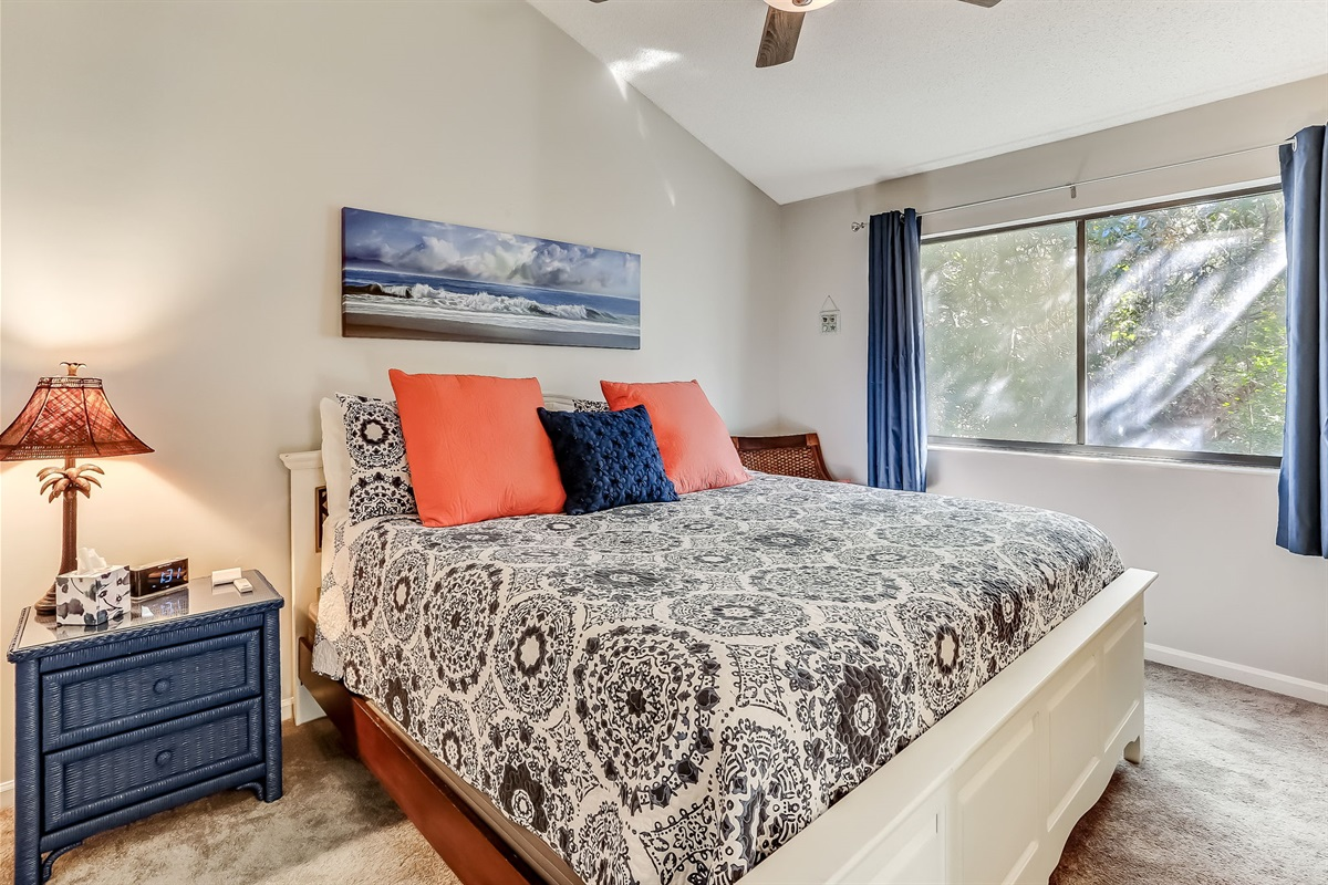 Master Bedroom with King