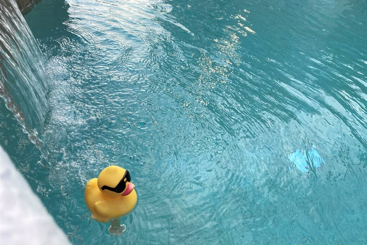 Luxury Pool and Hot Tub