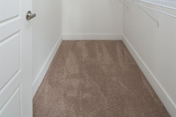 Large walk in closets in BOTH bedrooms