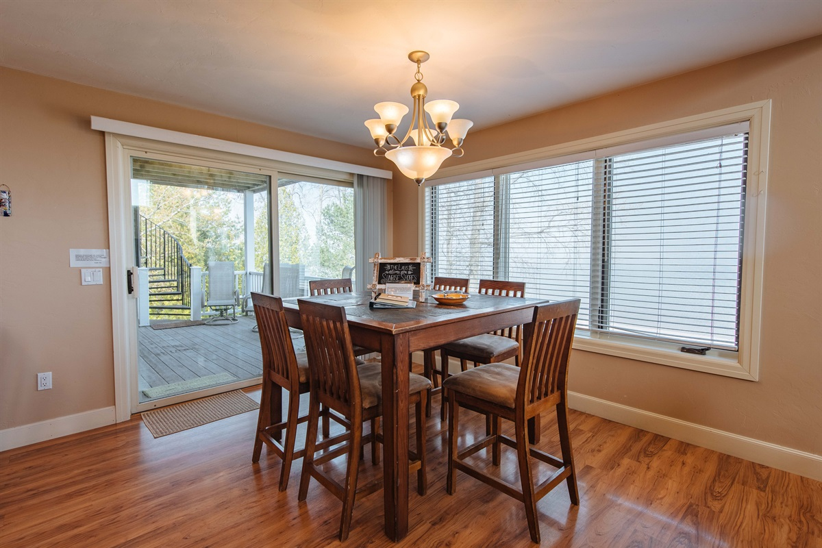 1 of 2 Dining Areas