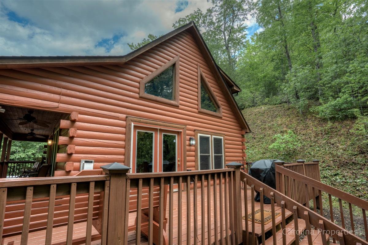 Back of Three Bears Cabin