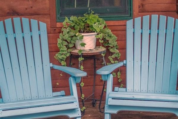 Aspen porch
