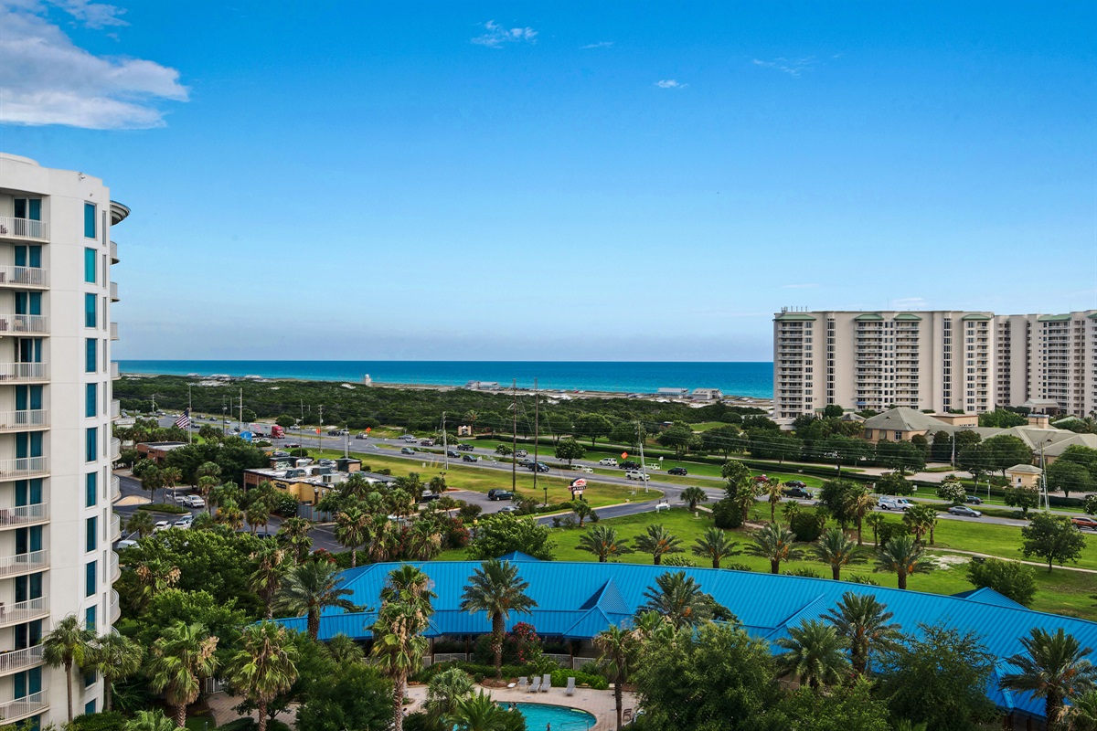 Aerial views from Resort
