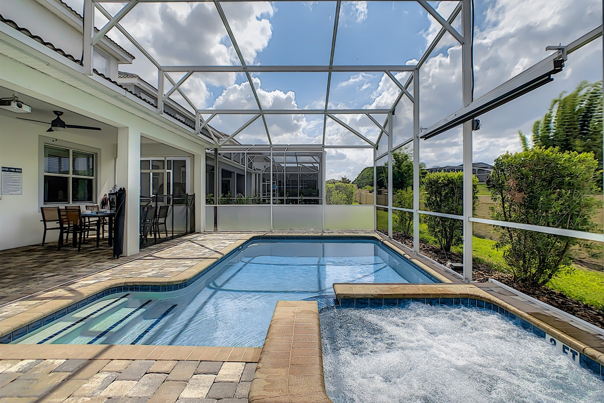 Heated Pool And Spa (Heating Extra)