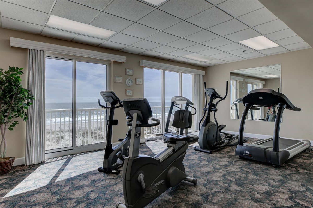 Fitness Room located on the 3rd Floor