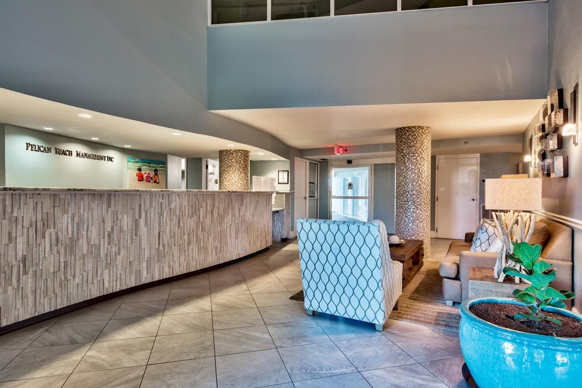 Pelican Beach Resort Lobby